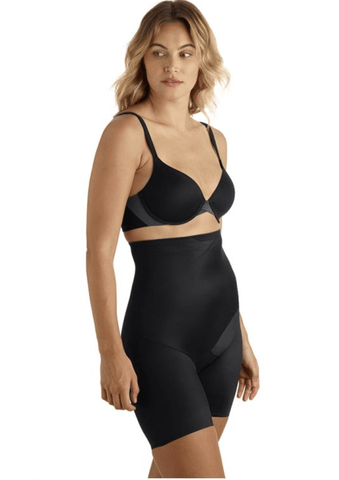 TC Tummy Tux Hi-Waist Thigh Slimmer 4439 Shapewear Black / S TC