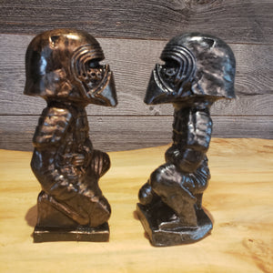 Bronze  Kylo Ren Terra Cotta Warrior  Statue original  Sculpt and cast