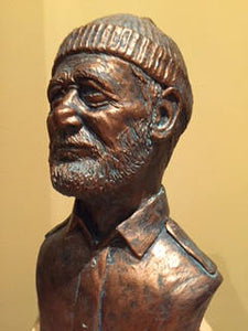 Steve Zissou Life Aquatic Bill Murray Bronze Bust Original sculpt
