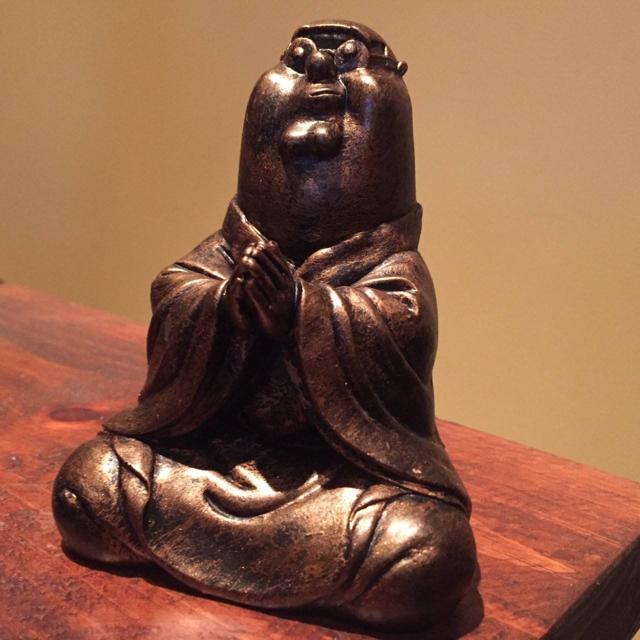 Bronze Peter Griffin Buddha Family Guy  Statue original  Sculpt and cast Resin toy