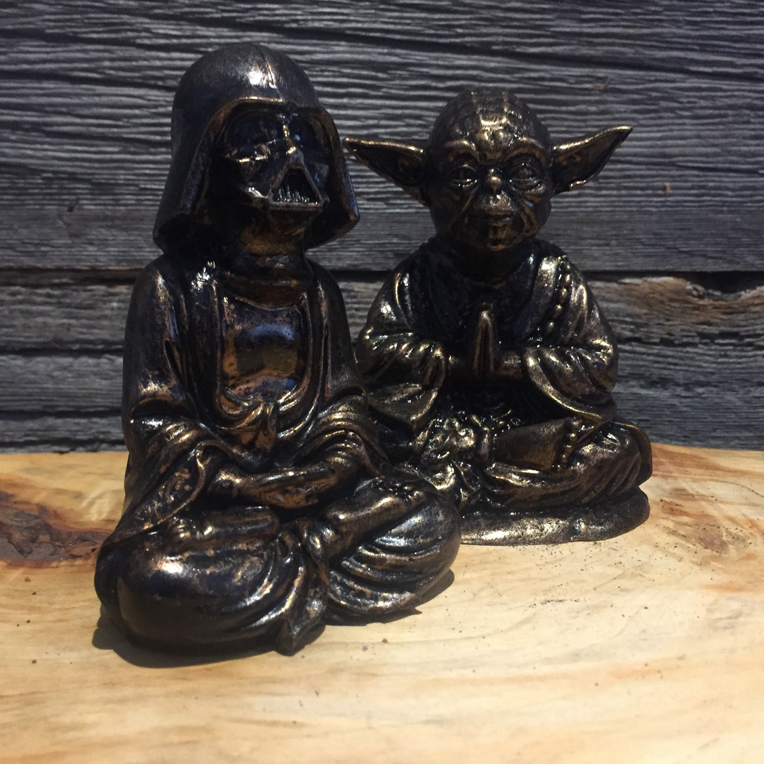 Bronze  Darth Vader Buddha  Statue original Darth Buddha Sculpt and cast