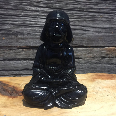 Black  Darth Vader Buddha  Statue original Darth Buddha Sculpt and cast