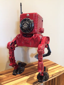 Vintage Kodak walker  scavenger droid  Camera robot Cam-bot kitbash  AT-ST chicken walker