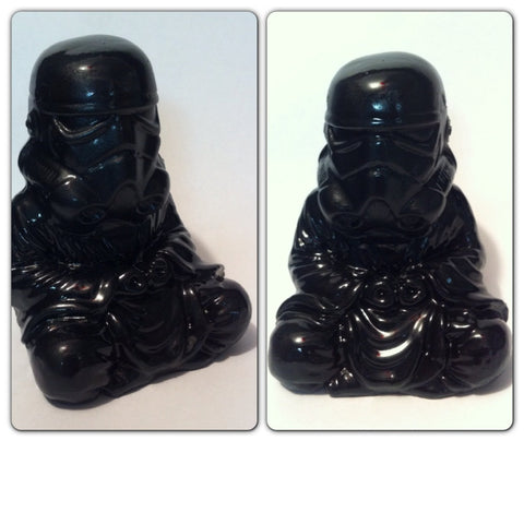 Gloss Black Zen Trooper Custom Buddha stormtrooper original  Sculpt and cast