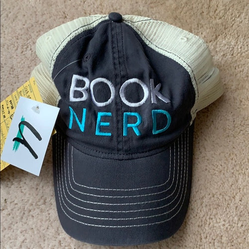 BOOK NERD trucker hat