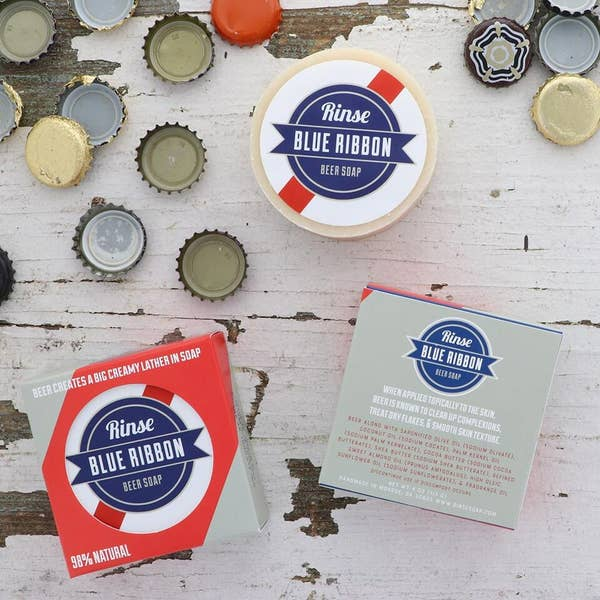 BLUE RIBBON beer soap - by Rinse Bath & Body