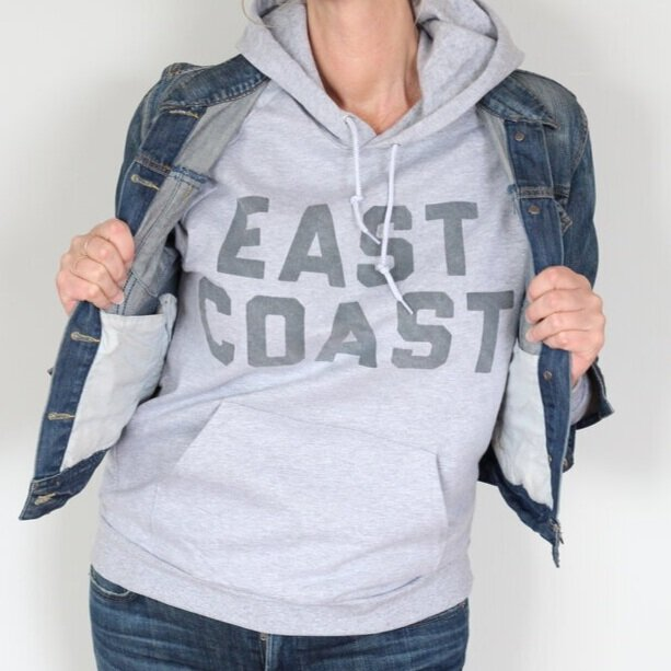 EAST COAST HOODIE - by The Girl From Away