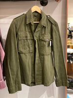 VINTAGE DISTRESSED MILITARY JACKET by STASH STYLE