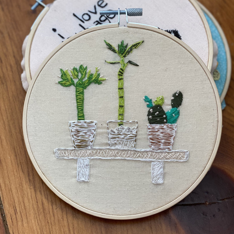 EMBROIDERY HOOPS by Jill