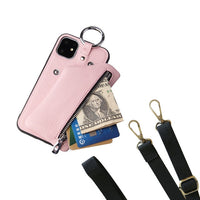 Leather Strap Purse/Phone Cases