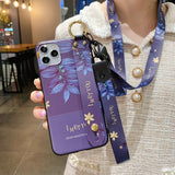 Phone Case with neck strap and holder/stand