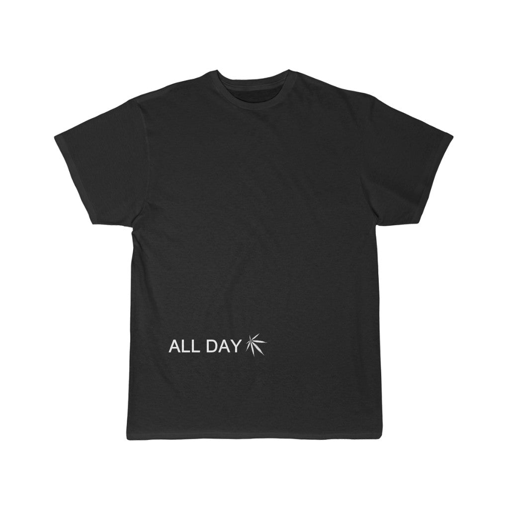 All day/All night cannabis Short Sleeve Tee