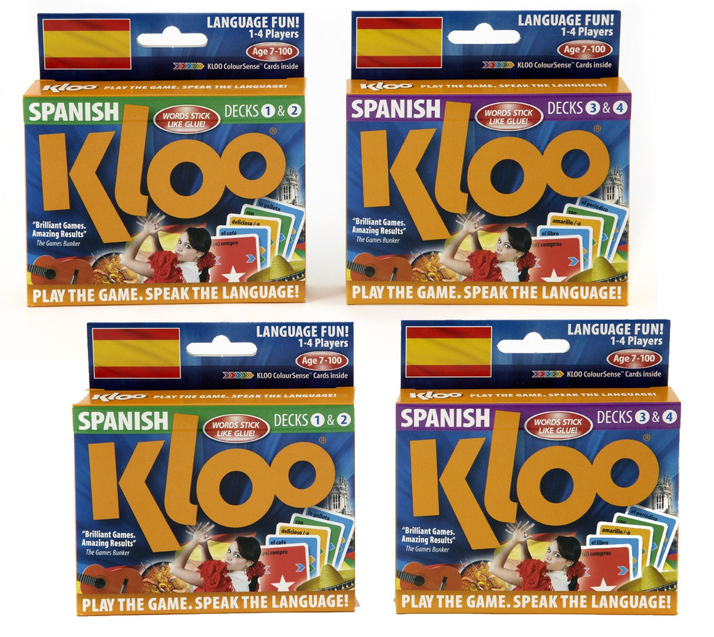 MFL Spanish resources Learn to Speak Spanish Card Games for schools