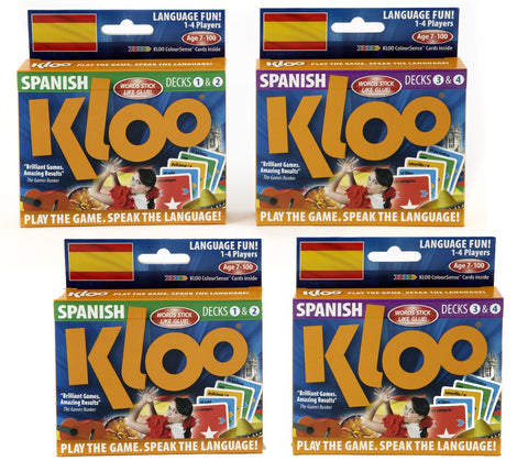KLOO Learn Spanish MFL Games - School Mini Pack - Language Resources
