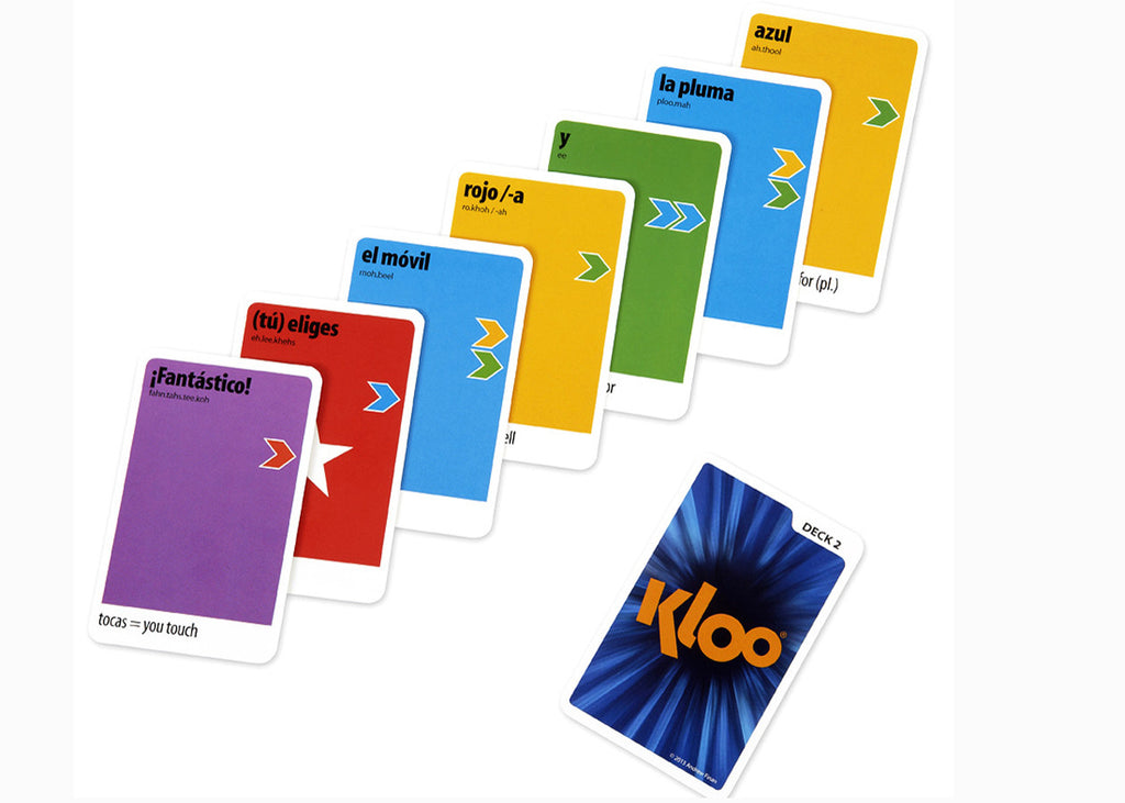 Kloo Games – Play the Game. Speak the Language