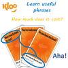 Learn Italian MFL Language Games KLOO for teaching phrases