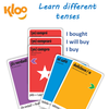 Learn Spanish verbs with Learn to Speak Spanish Card Games for kids schools and adults. Teach yourself Spanish or teach your child Spanish