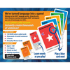 Back of Learn to Speak Italian MFL Games Resources for schools and adults