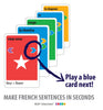 Build a French sentences with KLOO cards
