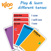 Learn Italian verbs with Learn to Speak Italian Card Games for kids schools and adults. Teach yourself Italian or teach your child Italian