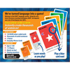 KLOO Learn Italian Travel Game Combo, Packs 1 and 2 (4 Decks) - Play and Speak Italian