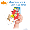 KLOO Zoo - Kids Reading Game (Literacy Games for Preschool, Nursery, Kindergarten aged children)