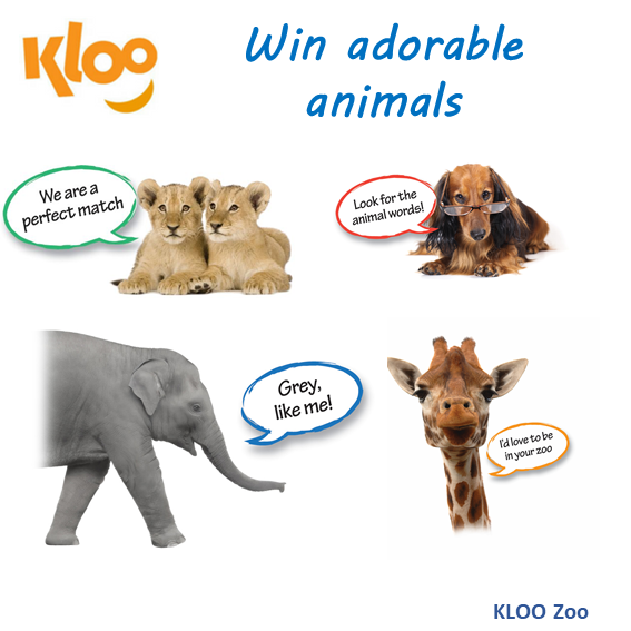 KLOO Games - KLOO Zoo - Kids Reading Game (Literacy Games for