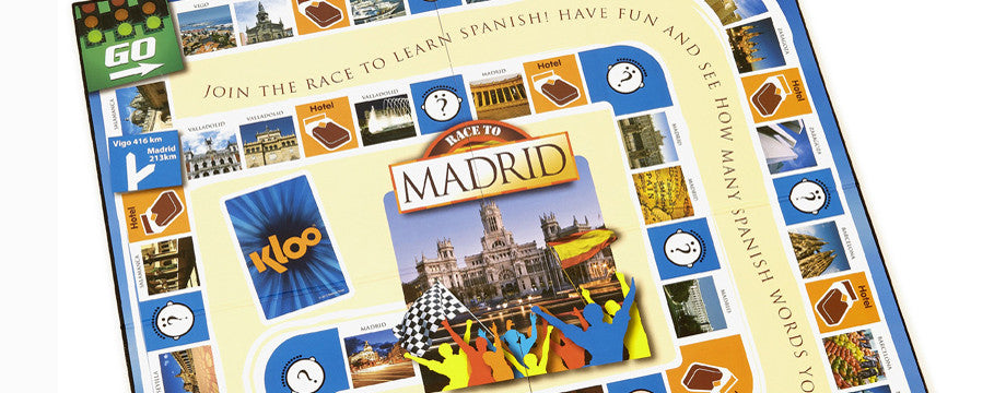 Learn Spanish Board Games for kids