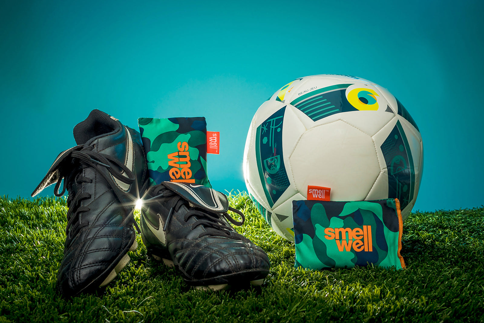 SmellWell keeps your football boots fresh