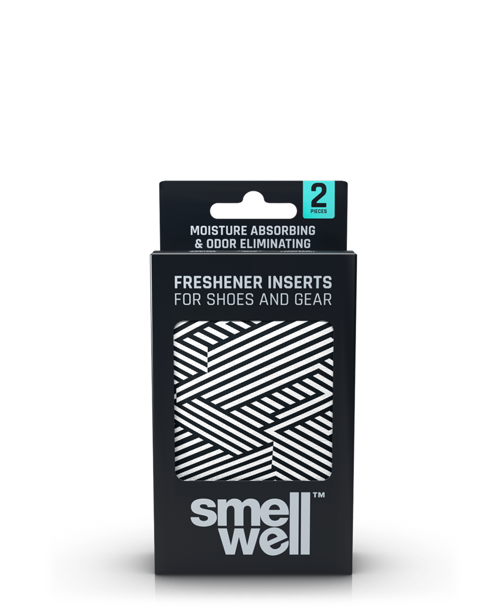 A package of SmellWell Active - White Stripes