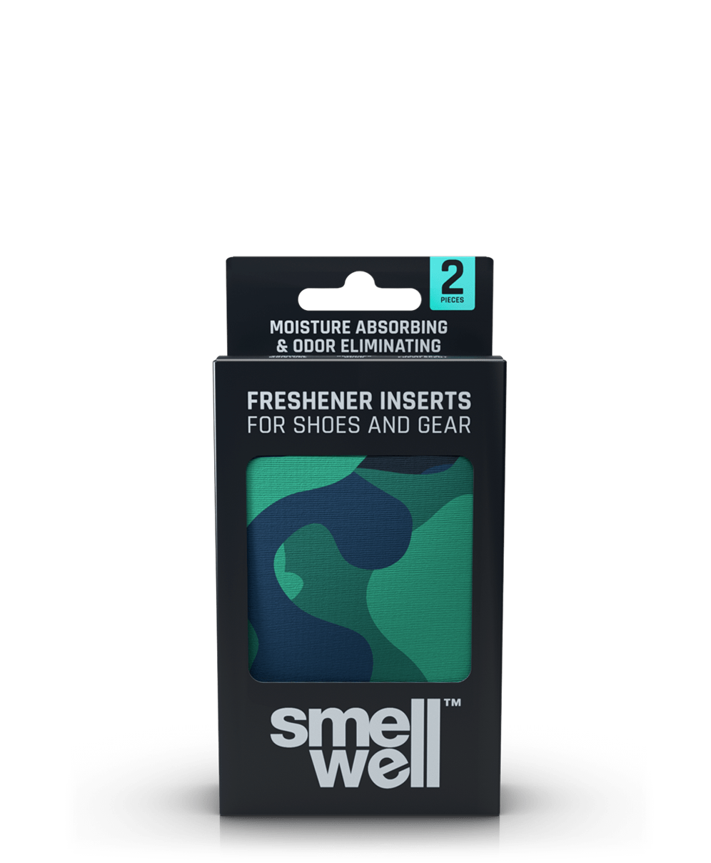 A package of SmellWell Active - Camo Green