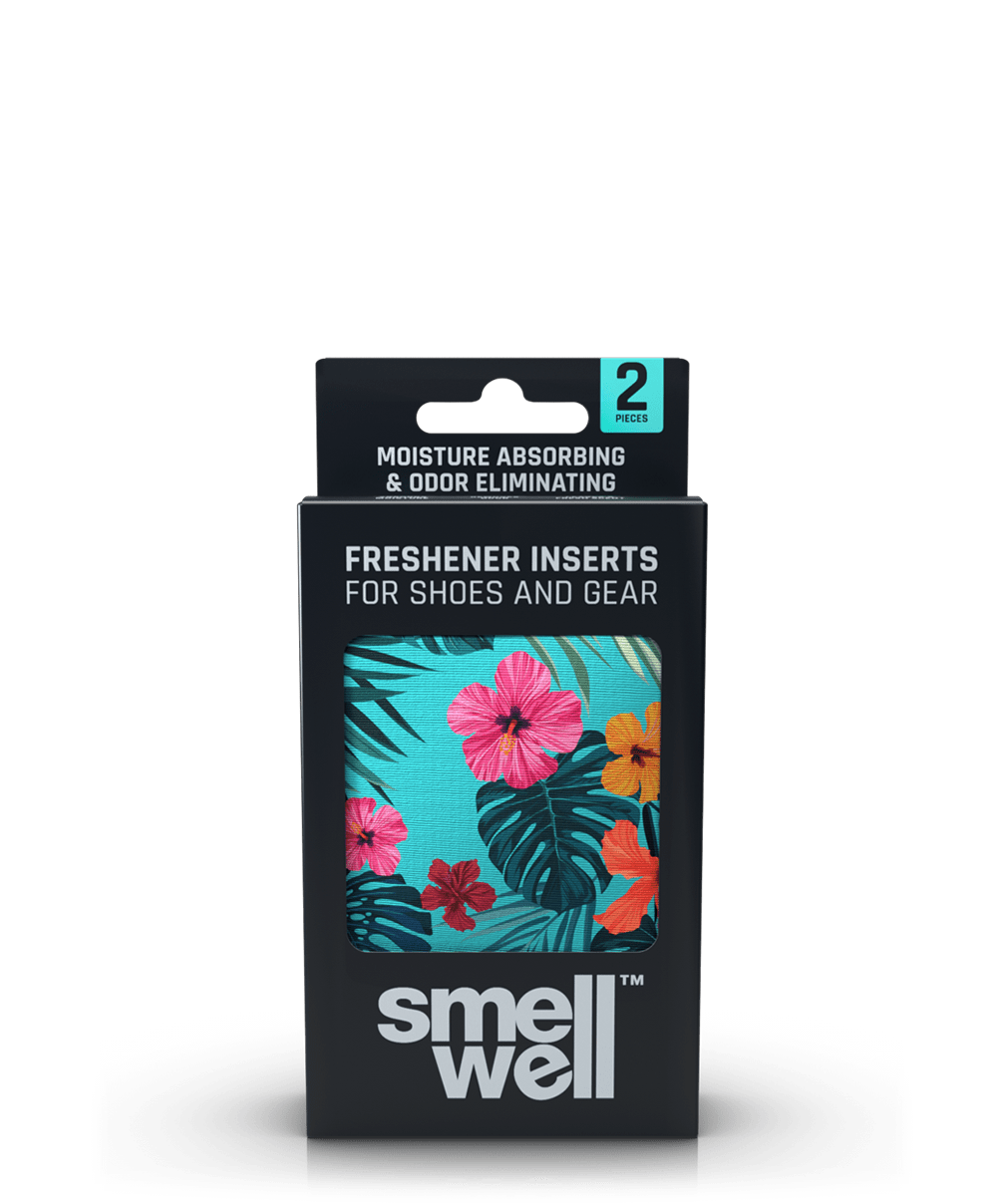 A package of SmellWell Active - Tropical Blue