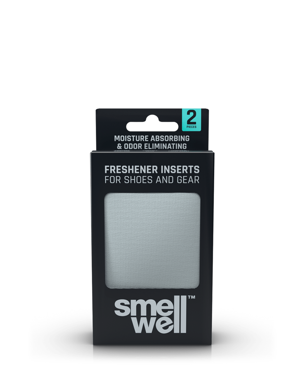 A package of SmellWell Active - Light Grey