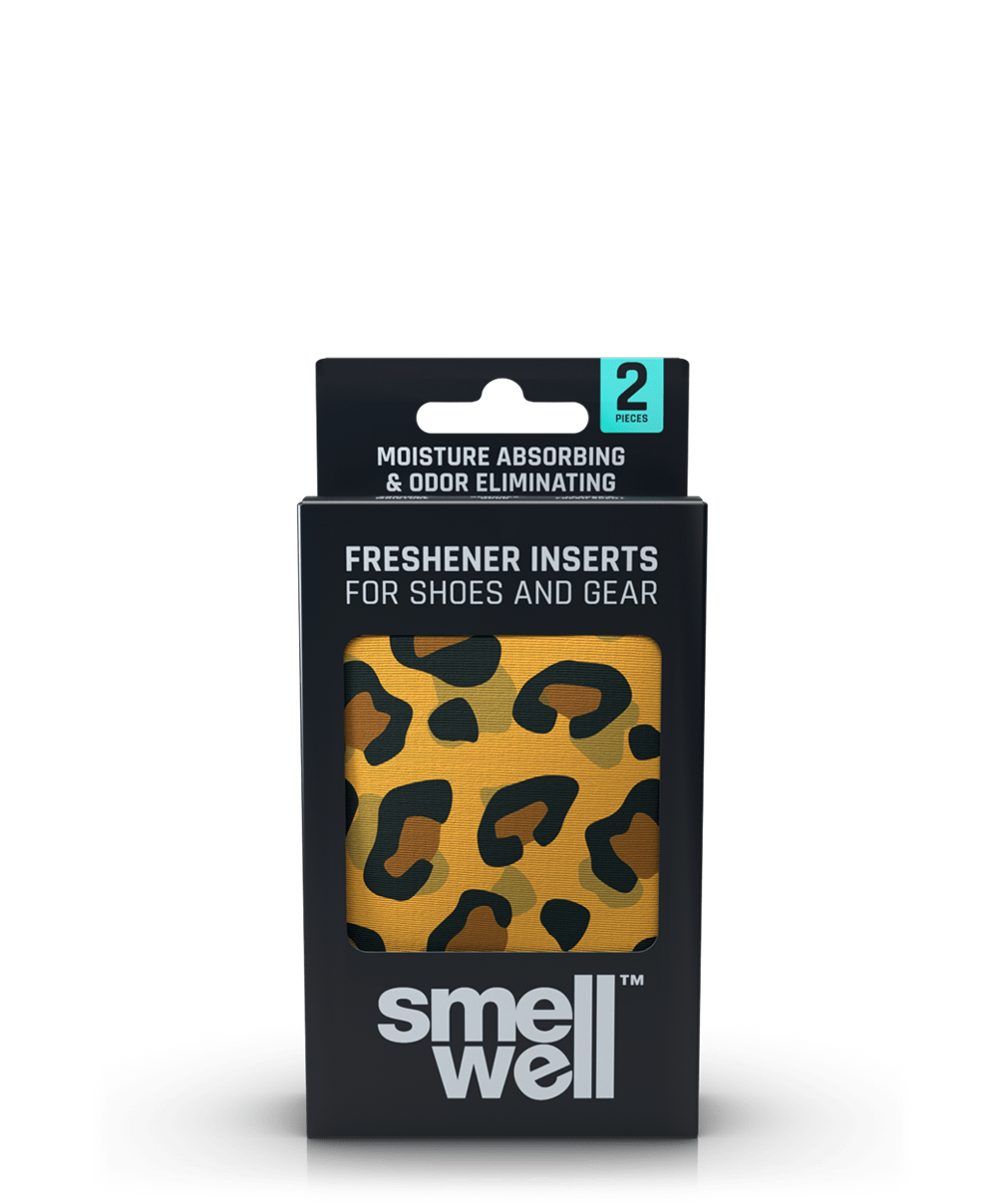 A package of SmellWell Active - Leo Brown