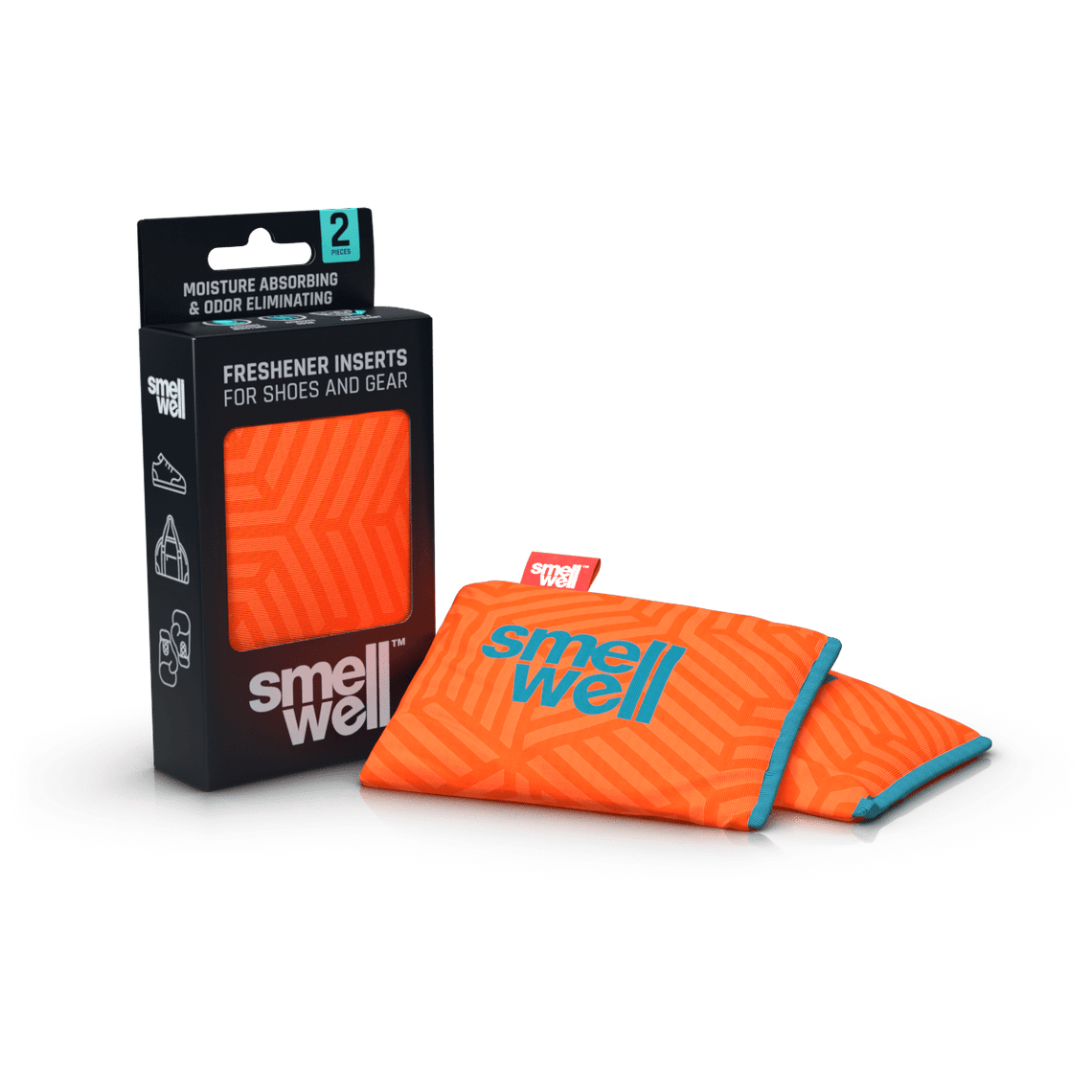 SmellWell Active - Geometric Orange