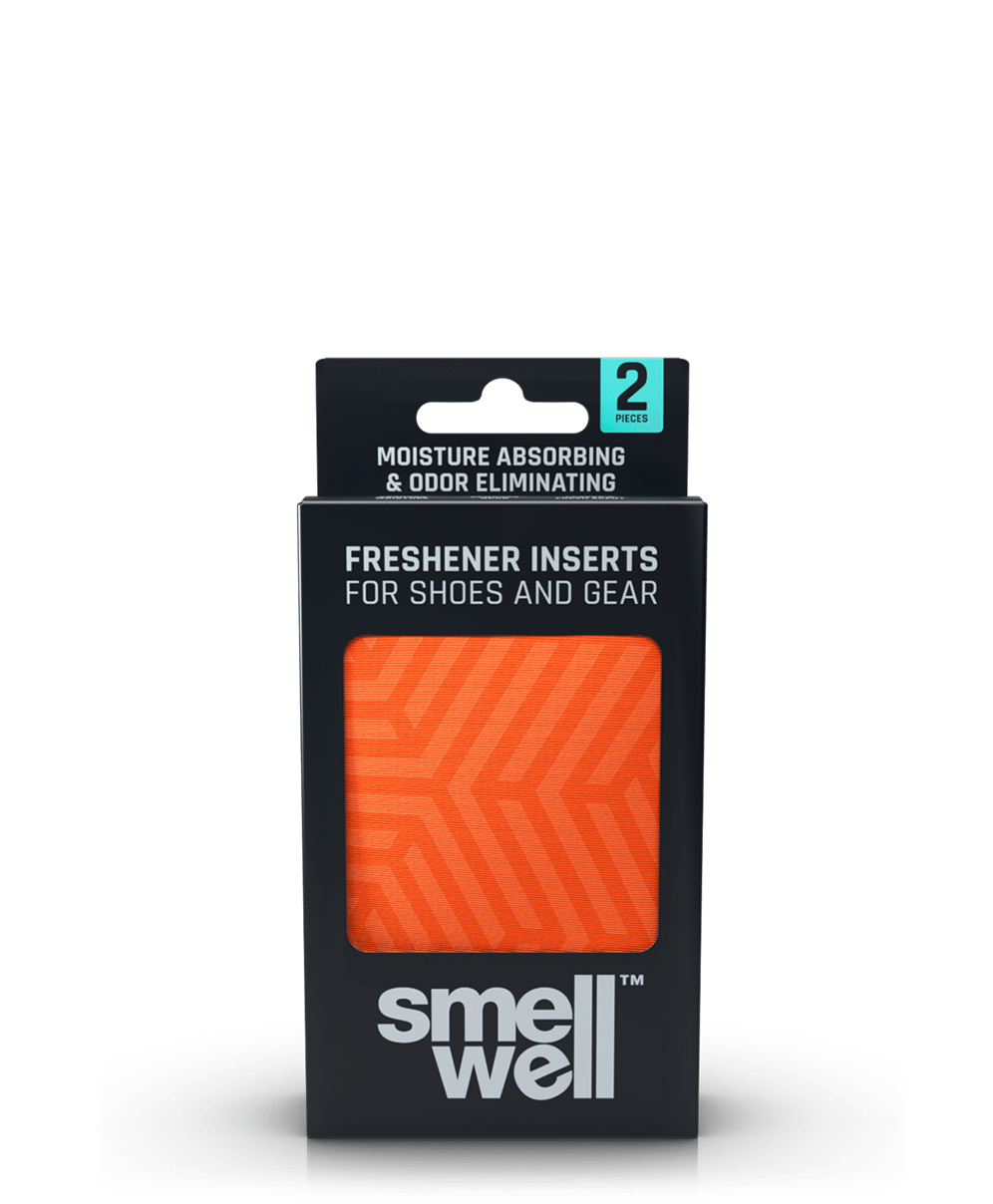 A package of SmellWell Active - Geometric Orange