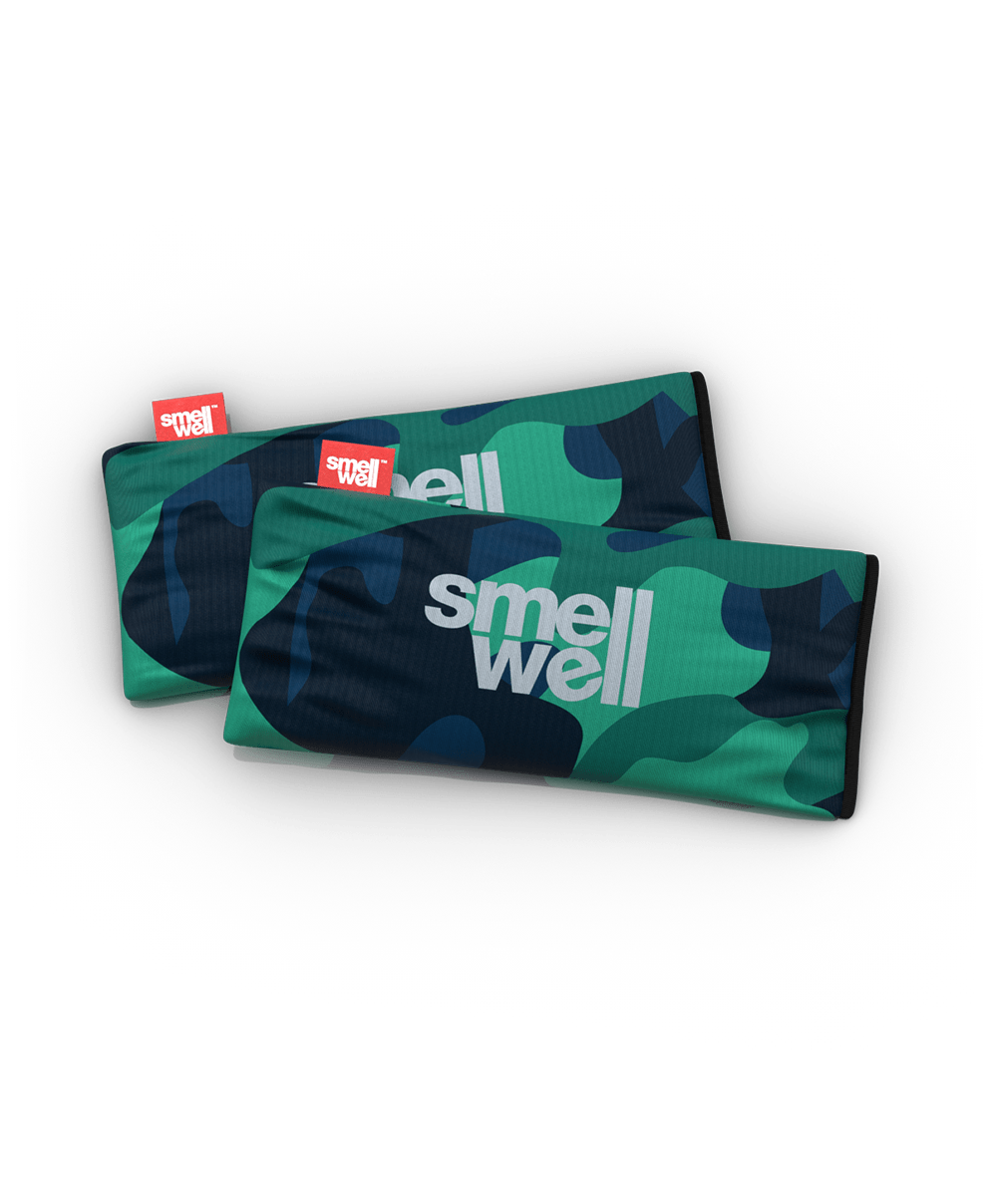 A package of SmellWell Active XL - Camo Grey