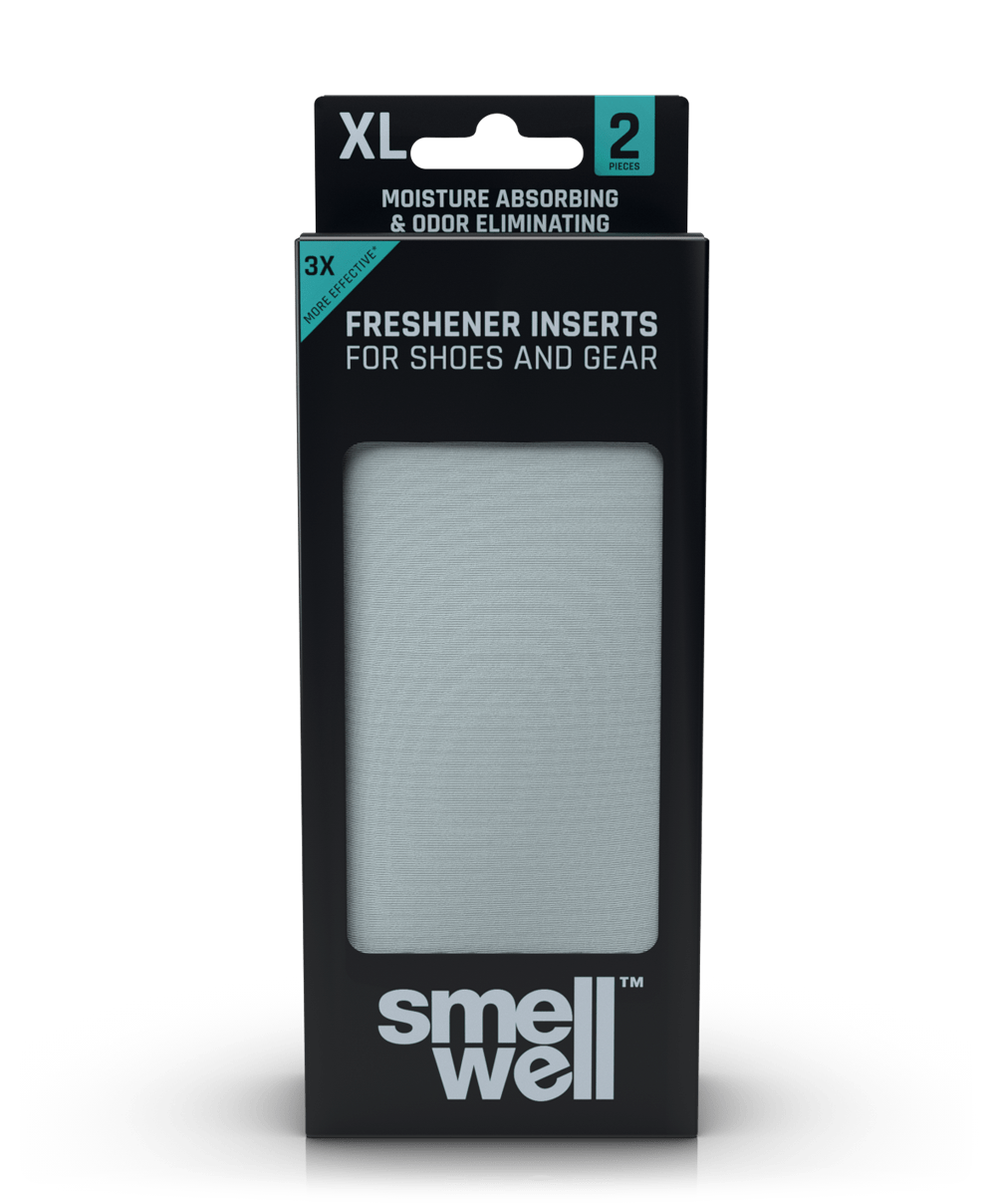 A package of SmellWell Active XL - Light Grey