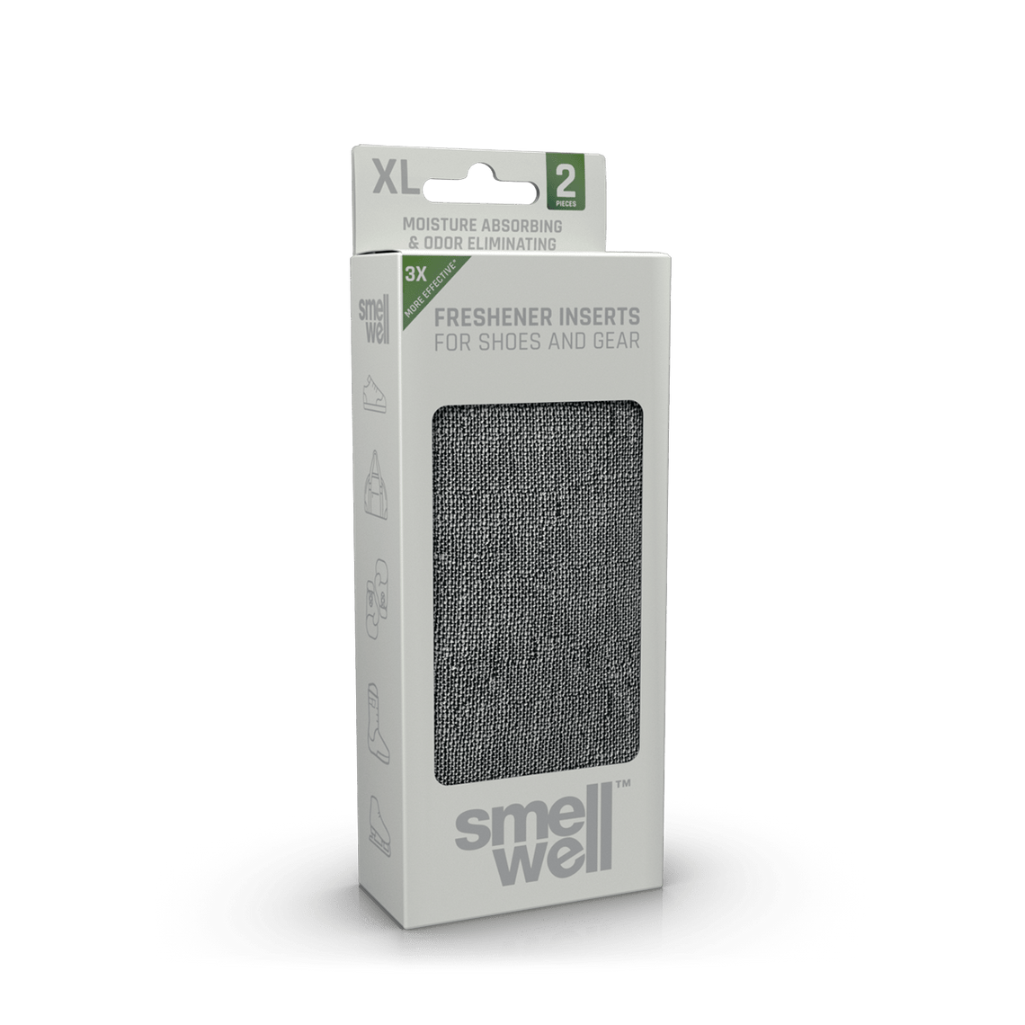 SmellWell Sensitive XL - Grey