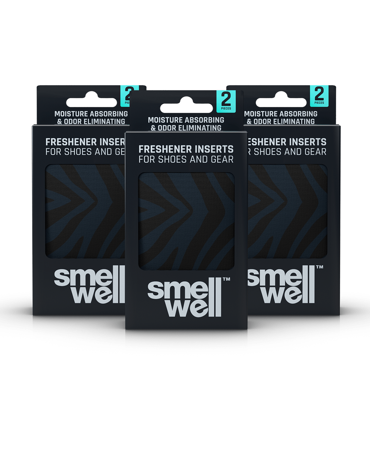 3 packages of SmellWell Active - Black Zebra