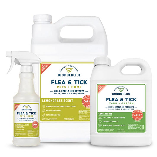 Lemongrass Home Treatment Kit Flea & Tick Spray