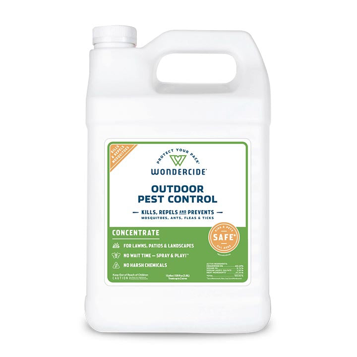 Outdoor Pest Control Concentrate for Yard + Garden - 128 oz