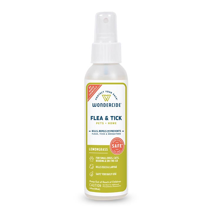 Lemongrass Flea & Tick Spray for Pets + Home - 4oz