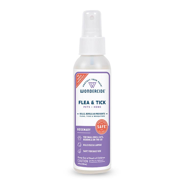 Rosemary Flea & Tick Spray for Pets + Home - 4oz