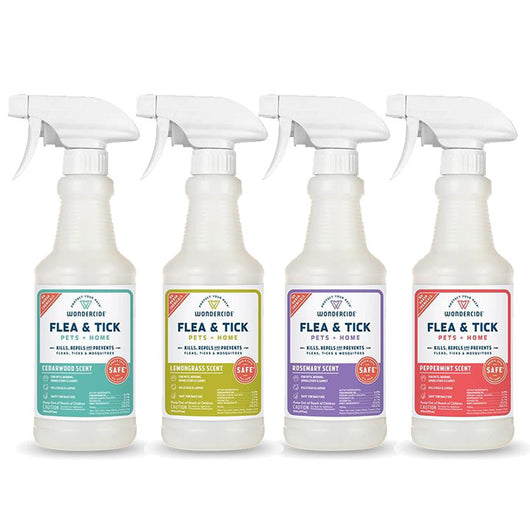 Flea & Tick Spray for Pets + Home | Bug Free Summer