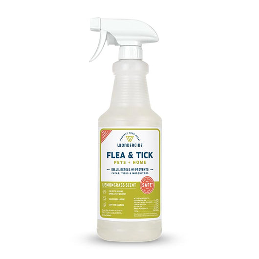 Lemongrass Flea & Tick for Pets + Home - 32oz