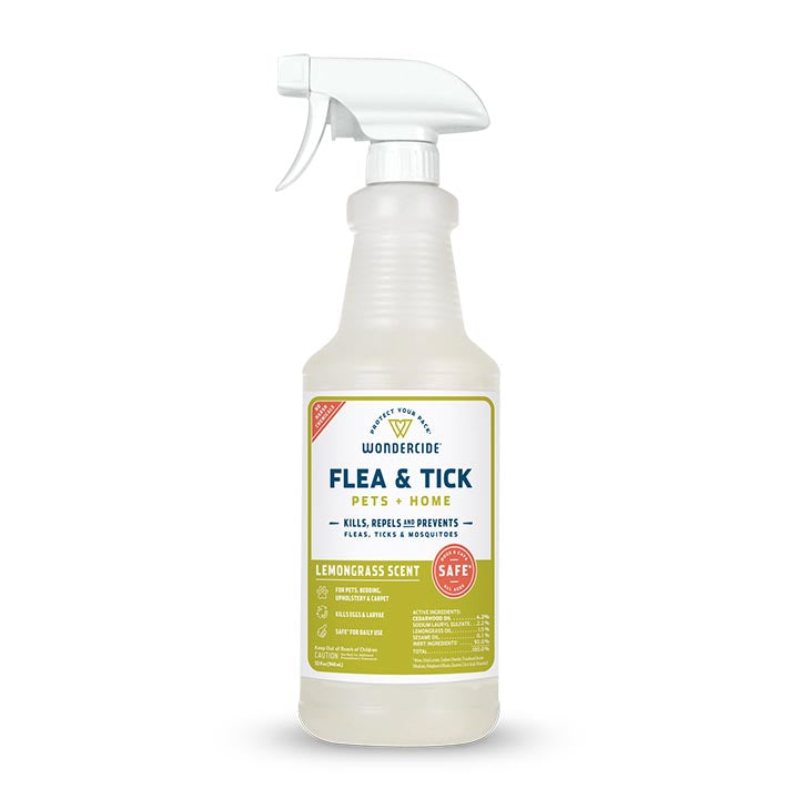 Lemongrass Flea & Tick Spray for Pets + Home - 16oz