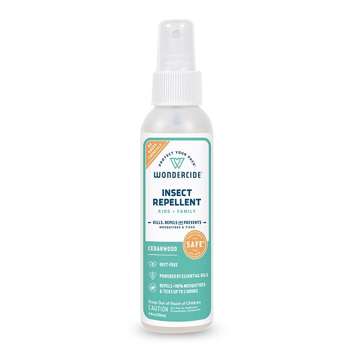Cedarwood Insect Repellent for Kids + Family - 4oz
