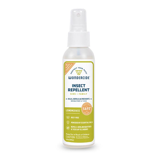 Lemongrass Insect Repellent for Kids + Family - 4oz