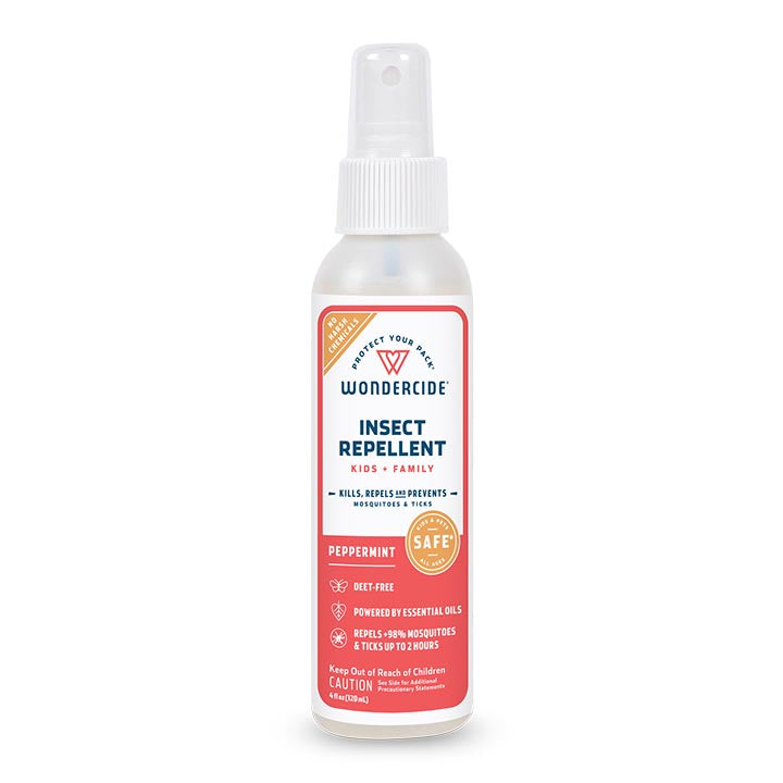 Peppermint Insect Repellent for Kids + Family - 4oz